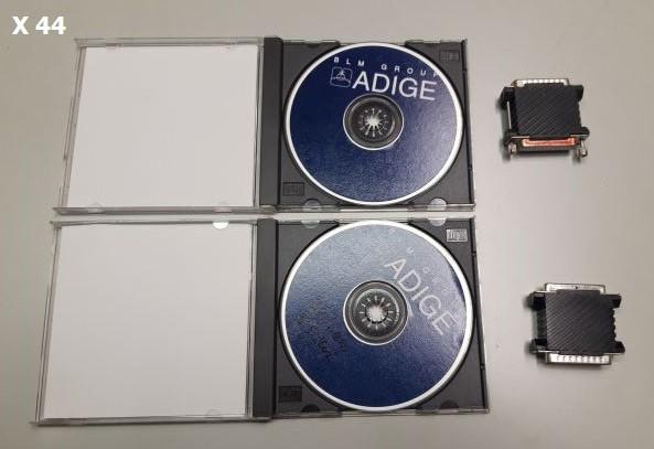 Software BLM Adige Tubework CAD/CAM-Software mit 2xDongle für den Rohrlaser LT 652