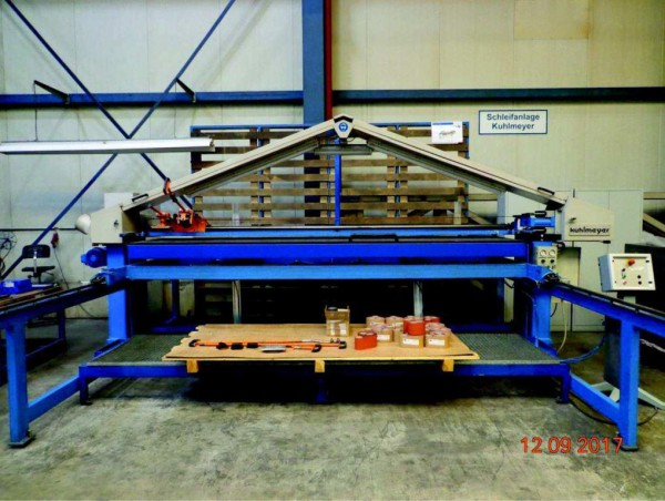 Zweiband Schleifmaschine Kuhlmeyer Typ ZBS