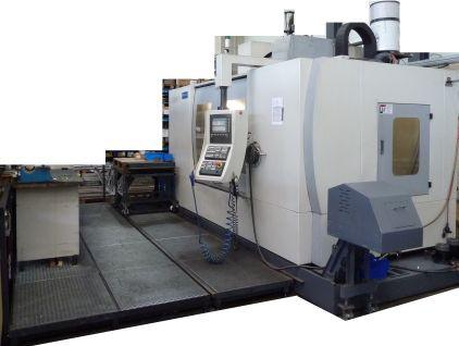 WMC 1600 Bearbeitungszentrum mit Siemens Steuerung 810D/WKZ – Aufnahme SK 50 Türer Machinery