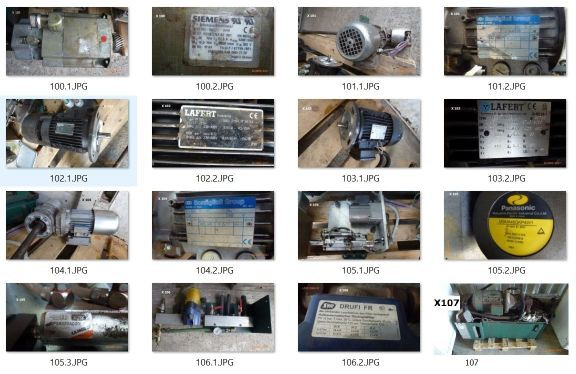 Mehrere Motoren Siemens, Bonfiglio, Lafert,Panasonic, Drufi, AEG