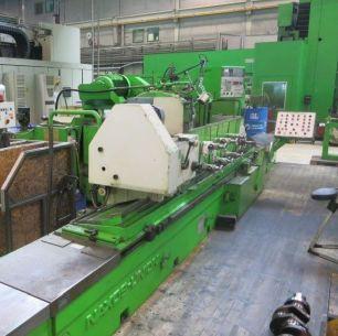 Rundschleifmaschine Naxos Union Türer Machinery