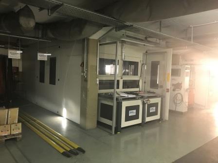 SHL Polier und Schleifmaschine mit Kuka Roboter System