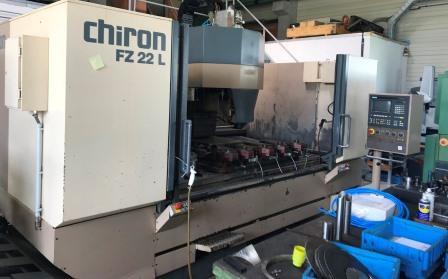Chiron FZ 22L Bearbeitungszentrum