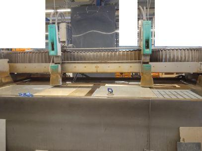 Wasserstrahlanlage Flow WMC 4020 Baujahr 2005 4000x2000mm www.tuerer-machinery.com