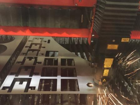 2D Laserschneidanlage