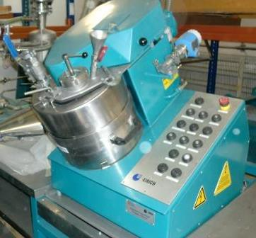 EIRICH-EVACTHERM®-Labormischer R02VAC
