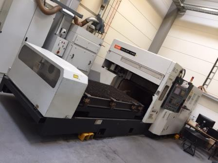 2D CO2 Laser cutting machine Mazak Spacegear MKII 2D/3D