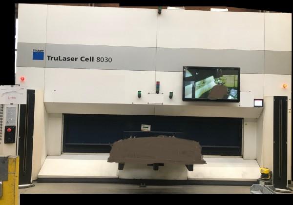 3D Faser Laserschneidanlage TruLaser Cell 8030 Baujahr 2012