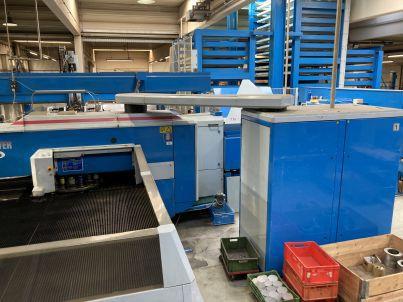 Finnpower Stanz Laser Kombi Anlage LP6 - Türer Machinery