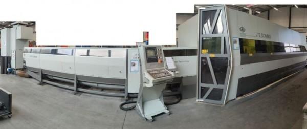BLM ADIGE Typ LT9 Combo Faser - Rohr Blech Laserschneidanlage 00680