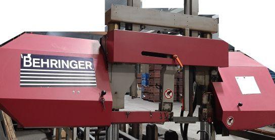 sehr gut erhalten Behringer Bandsäge Type HBP513N Baujahr 2011