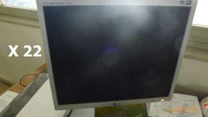 Flatron L17500 Bildschirm Ersatzteile einer BLM Adige Rohrlaser Typ LT 652 Baujahr 2002